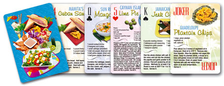 Food recipes tropical recipes playing cards forumfinder Images