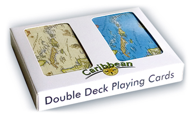 Caribbean Map Double Deck Playing Cards on map code, map label, map of bern and dreilinden, map pen, map color, map of croom motorcycle area, map button, map frame, map table, map beach, map list, map plastic, map craft,